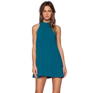 Lovers + Friends Lily Teal Dress